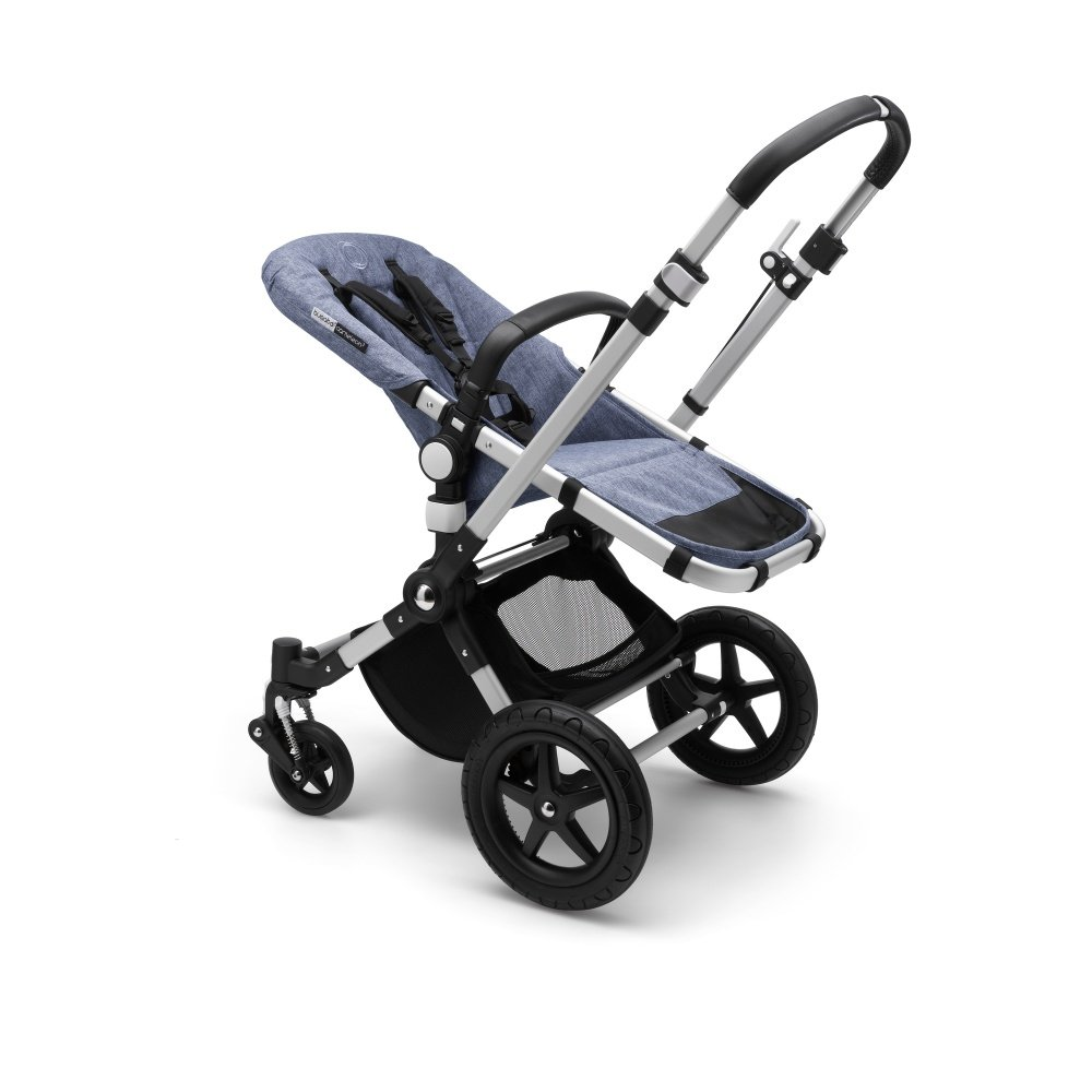 Bugaboo Коляска 2 в 1 Cameleon3 Plus ALU/BLUE MELANGE/BIRDS