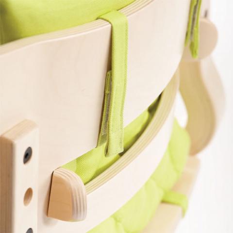 LEANDER Подушка для стульчика Малина