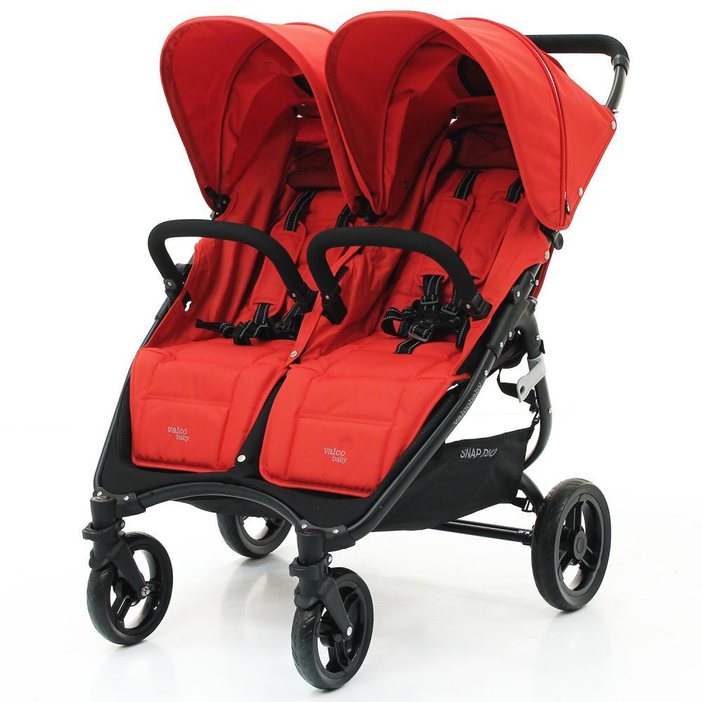 Купить Коляски для двойни и погодок, VALCO BABY Коляска для двойни SNAP DUO Twin/ Fire Red