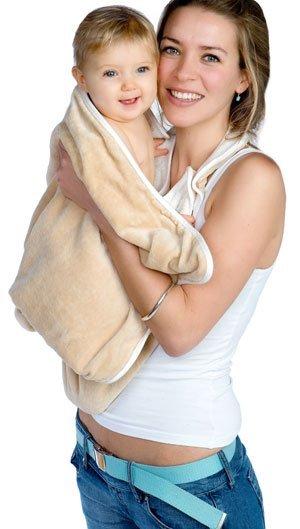 Полотенца, халаты, плавки CUDDLEDRY CUDDLEDRY простынка банная