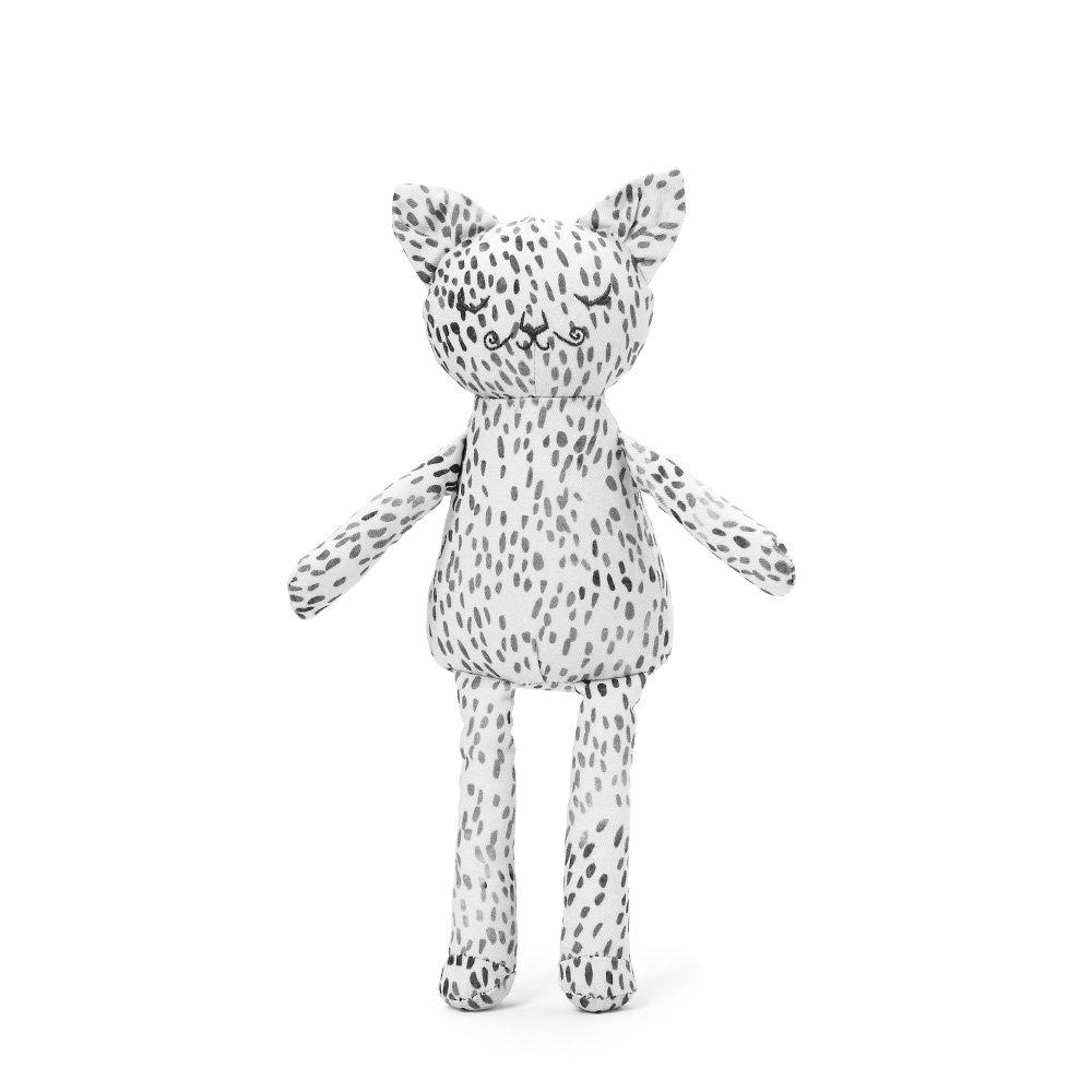 Купить Первые игрушки, погремушки, ELODIE DETAILS игрушка Котик - Dots of Fauna