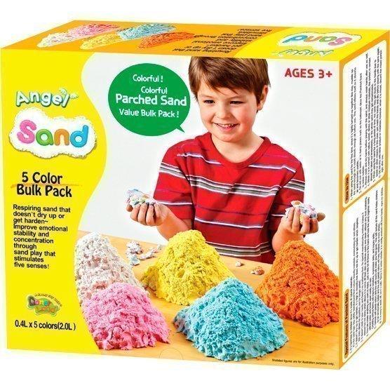 ANGEL SAND Набор песка для игры и творчества 5-COLOR Pack