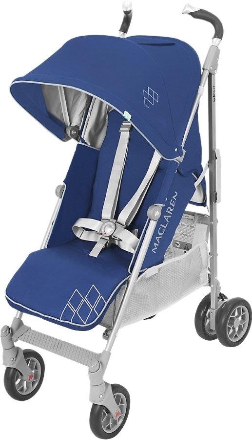 Maclaren капюшон к коляске techno xt medieval blue/ silver