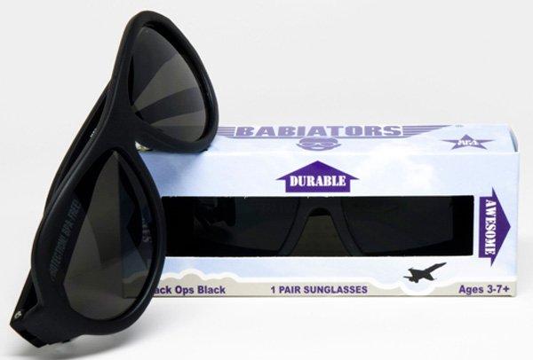 BABIATORS очки солнцезащитные Babiators Original (0-3) Спецназ (Black Ops) чёрные