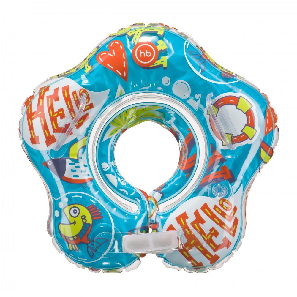 HAPPY BABY Детский надувной круг на шею DOLFY 121006