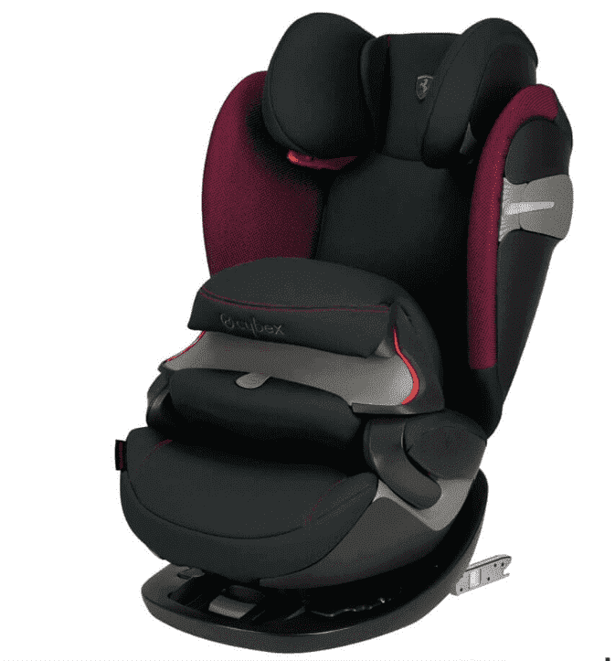 Cybex Автокресло Pallas S-Fix Ferrari Victory Black