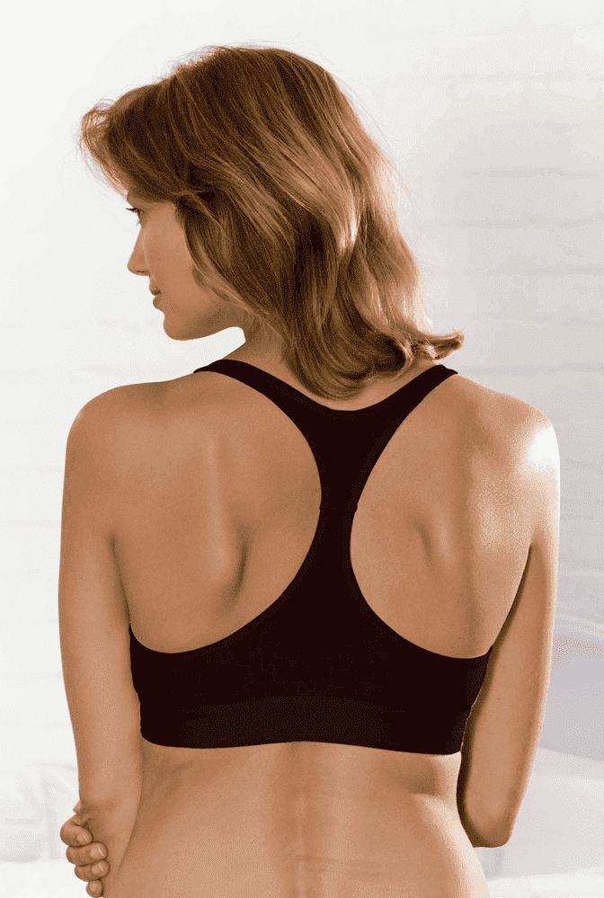 Emma Jane бюстгальтер для кормления ночной 371 чёрный р.70B-DD (EMMA JANE)