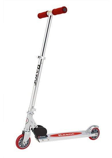 Купить Беговелы, самокаты, велосипеды, электромобили, Razor Самокат A125 German Standart 3 года+ красный