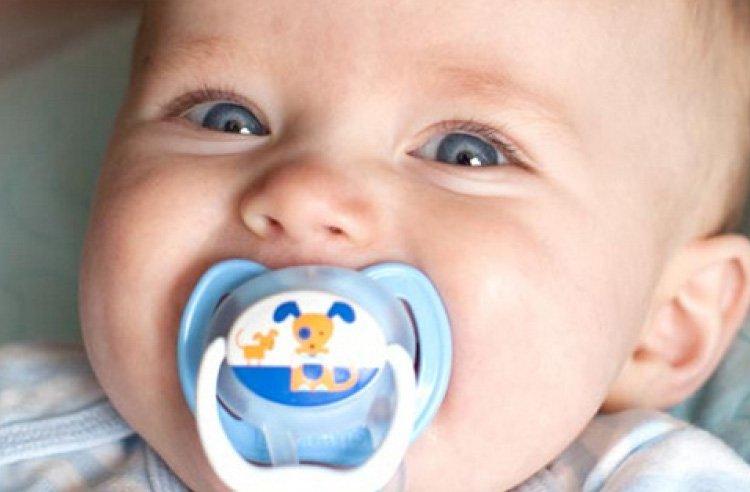 Пустышка PreVent КЛАССИК, 6 -12 месяцев, с крышкой, для мальчиков (Dr.BROWNS)