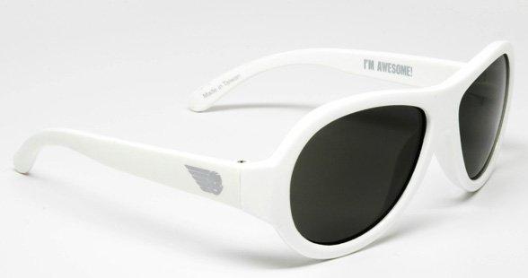 BABIATORS очки солнцезащитные Babiators Original (3-7+) Шалун белые