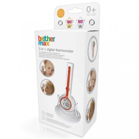 BROTHER MAX термометр 3 в 1