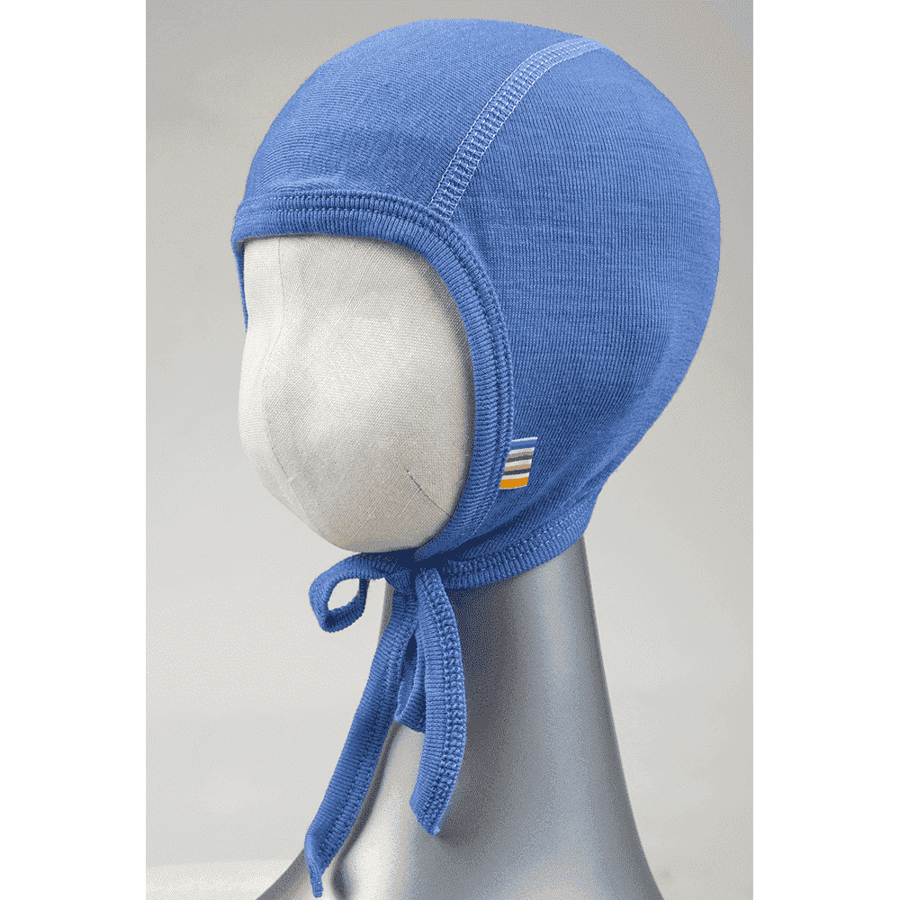 Купить Шапки, варежки, перчатки, JOHA чепчик голубой 48 см