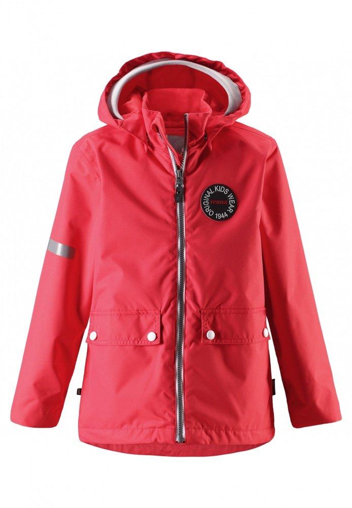 Купить Одежда для весны и осени, REIMA Куртка Reimatec TAAG коралловая р.116