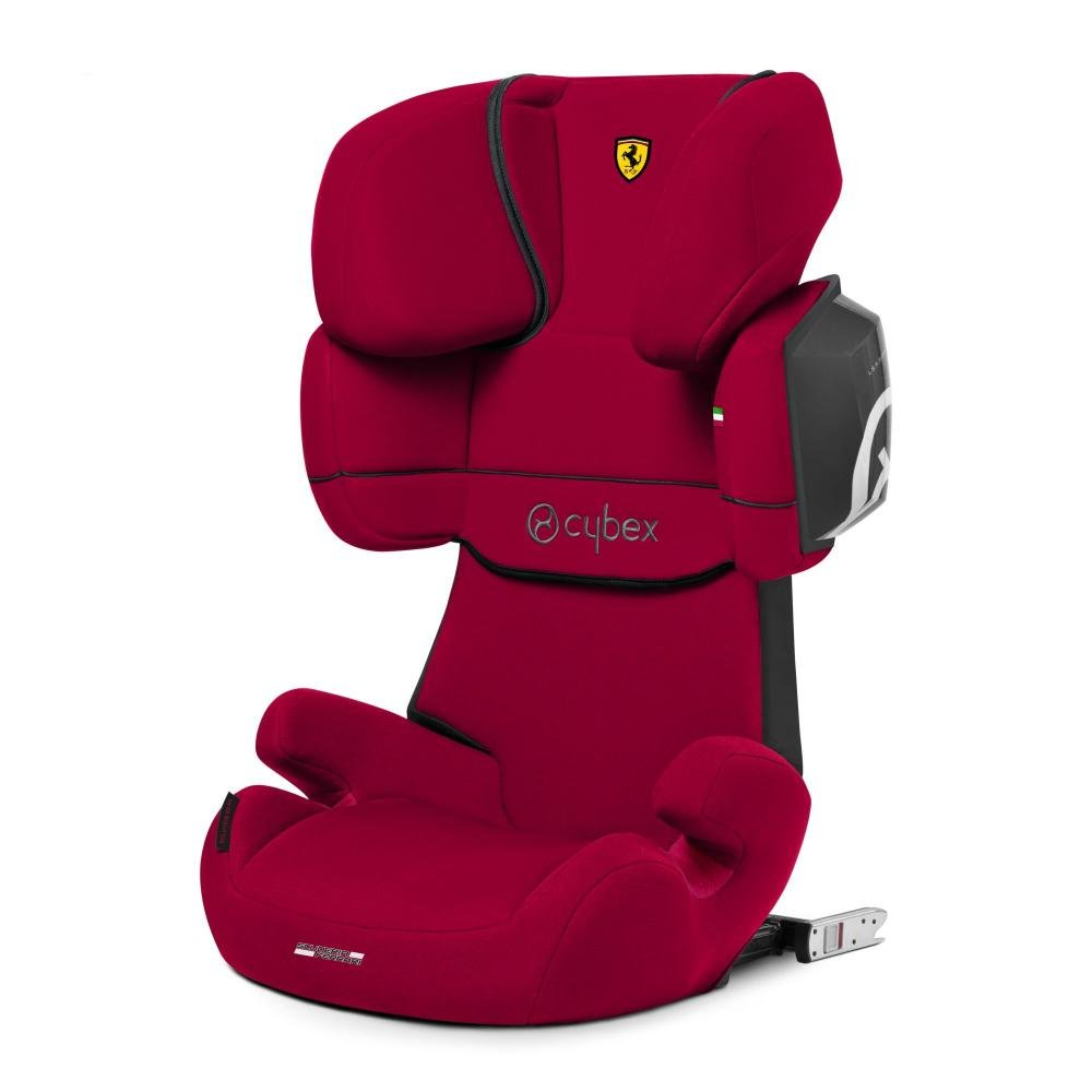 Cybex Автокресло Solution X2-Fix FE Ferrari Racing Red