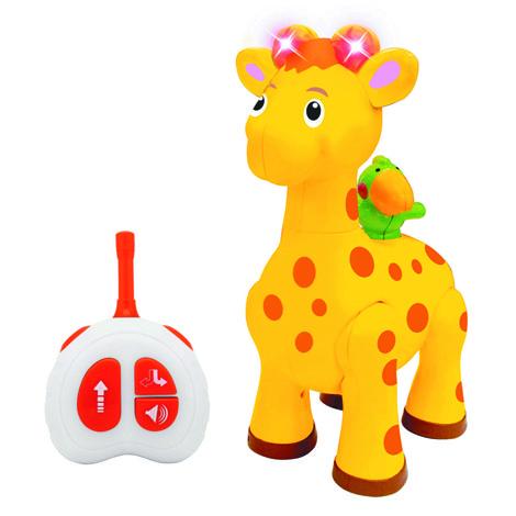 """KIDDIELAND развивающая игрушка  """"Жираф"""" с пультом упр."""