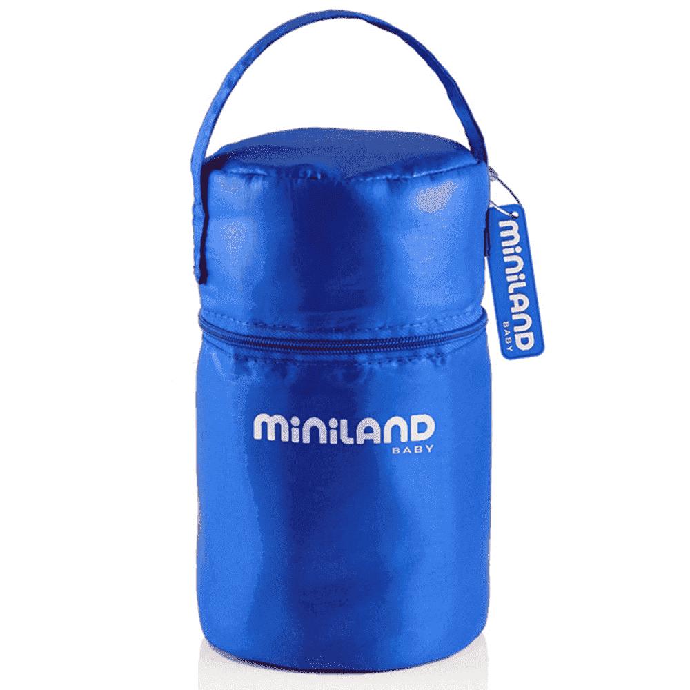 MINILAND термосумка с 2 мерными стаканчиками, синяя