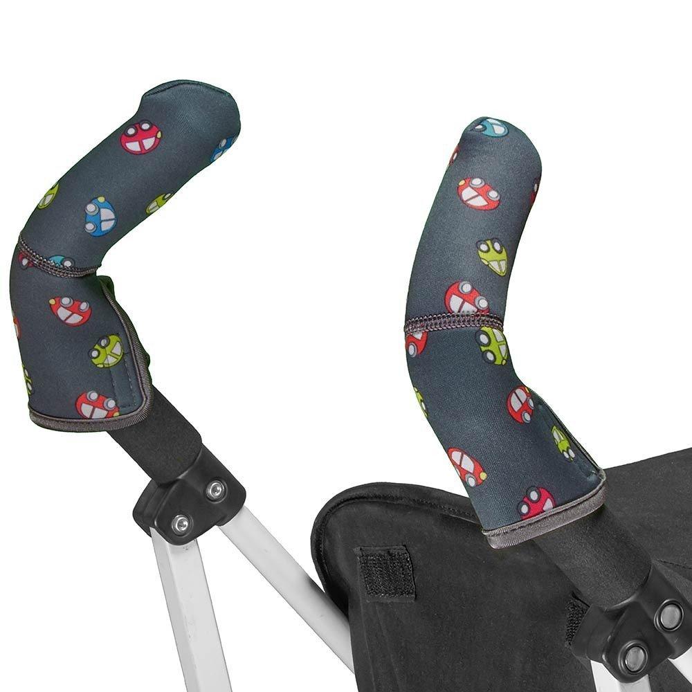 CityGrips Чехлы на ручки для коляски-трости  Toy Cars