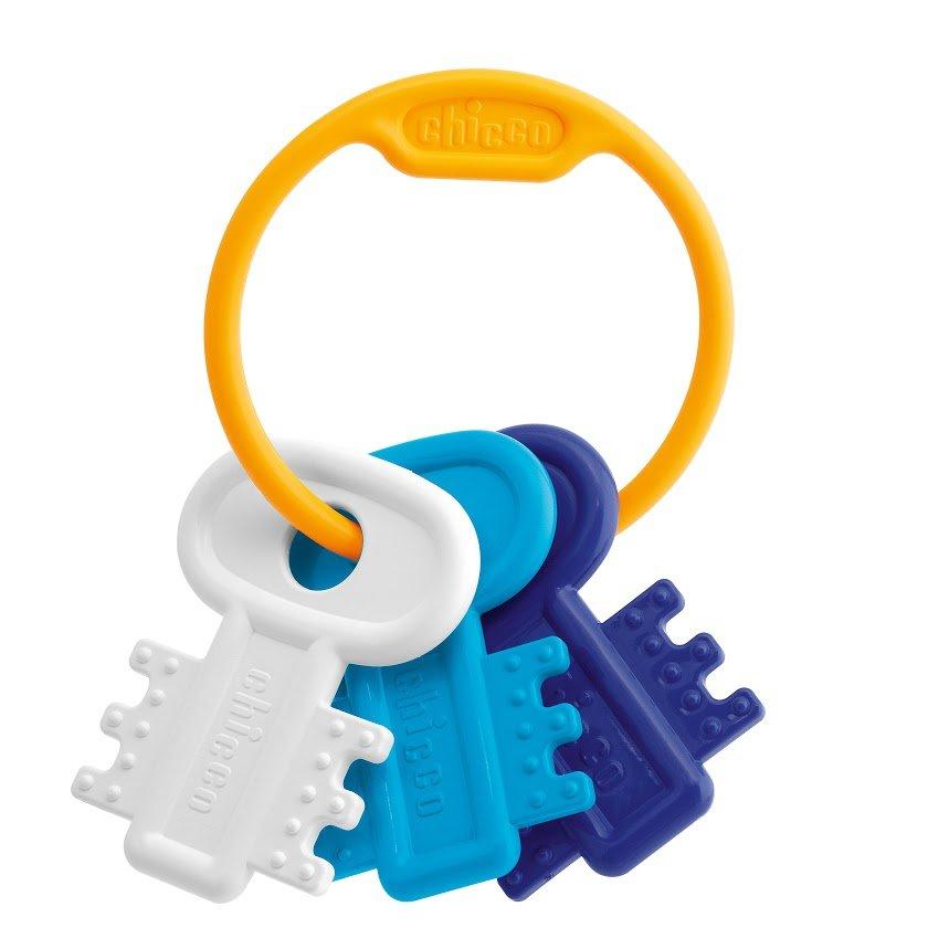 "CHICCO игрушка развивающая ""Ключи на кольце"" Blue"