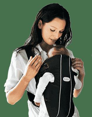 BABYBJORN рюкзак для переноски Original облегченный Mesh черный