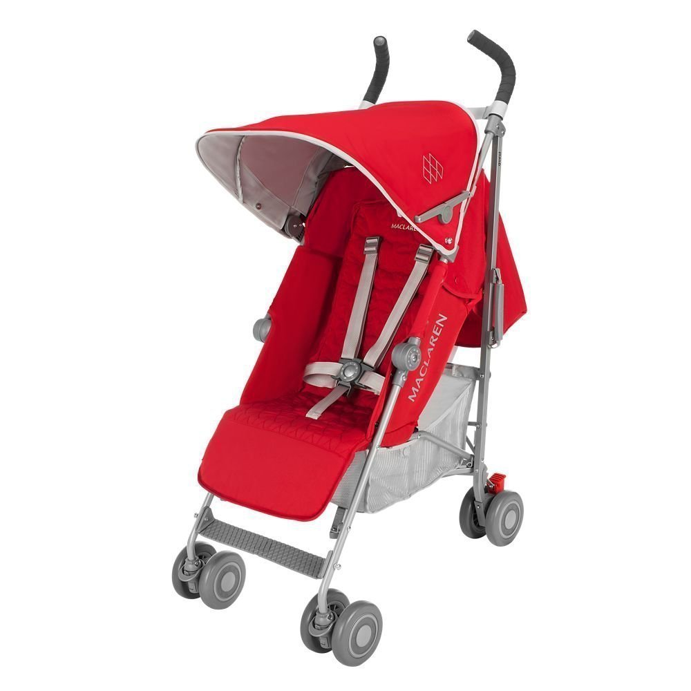 MACLAREN коляска прогулочная QUEST Cardinal/ Silver 2016