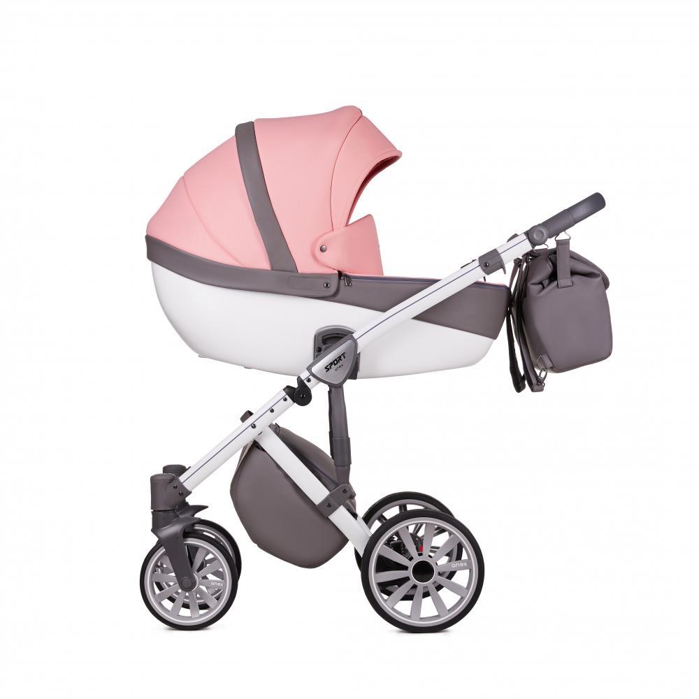 Купить Коляски для новорожденных, ANEX Коляска 3 в 1 SPORT Q1 (Sp20) sorbet