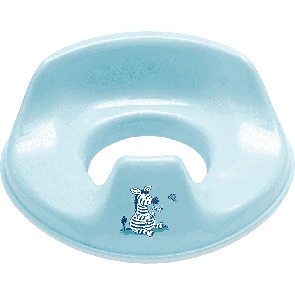 BEBE JOU сиденье для унитаза голубой зебра Динки 6039 84