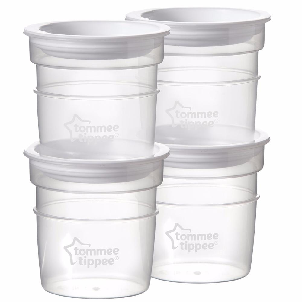 TOMMEE TIPPEE контейнеры для молока, 4 шт. от olant-shop.ru
