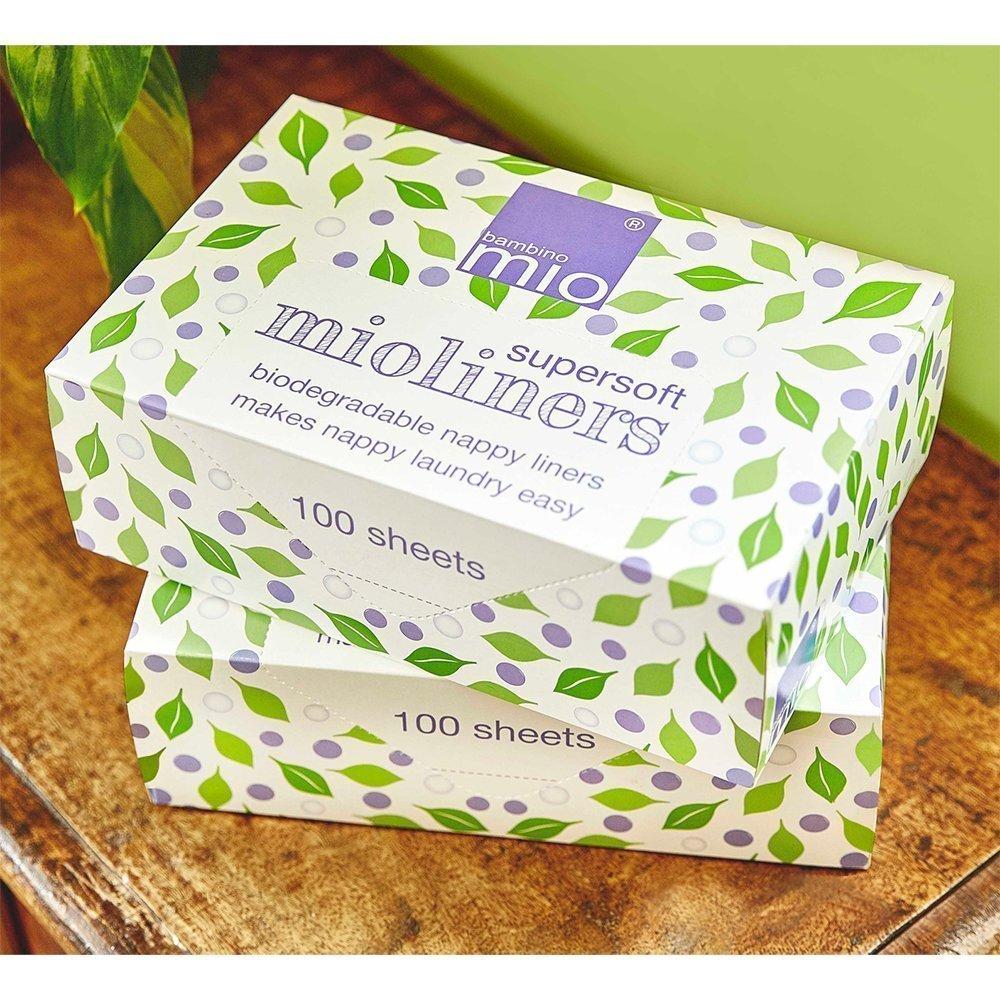 Купить Влажные салфетки, BAMBINO MIO салфетки супер мягкие впитывающие одноразовые 100 шт.