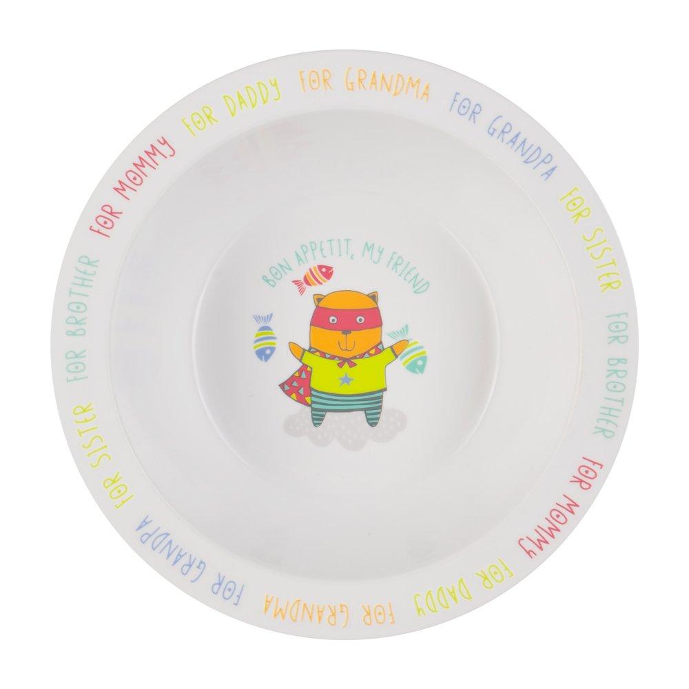 HAPPY BABY Глубокая тарелка для кормления FEEBING BOWL