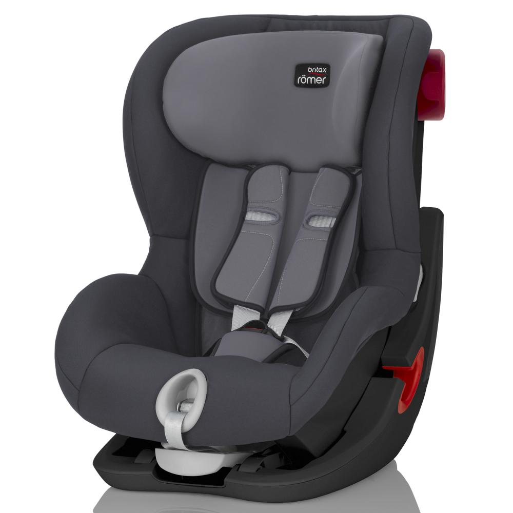 Britax Roemer автокресло KING II Black Series Strom Grey (группа 1, от 9 до 18 кг)