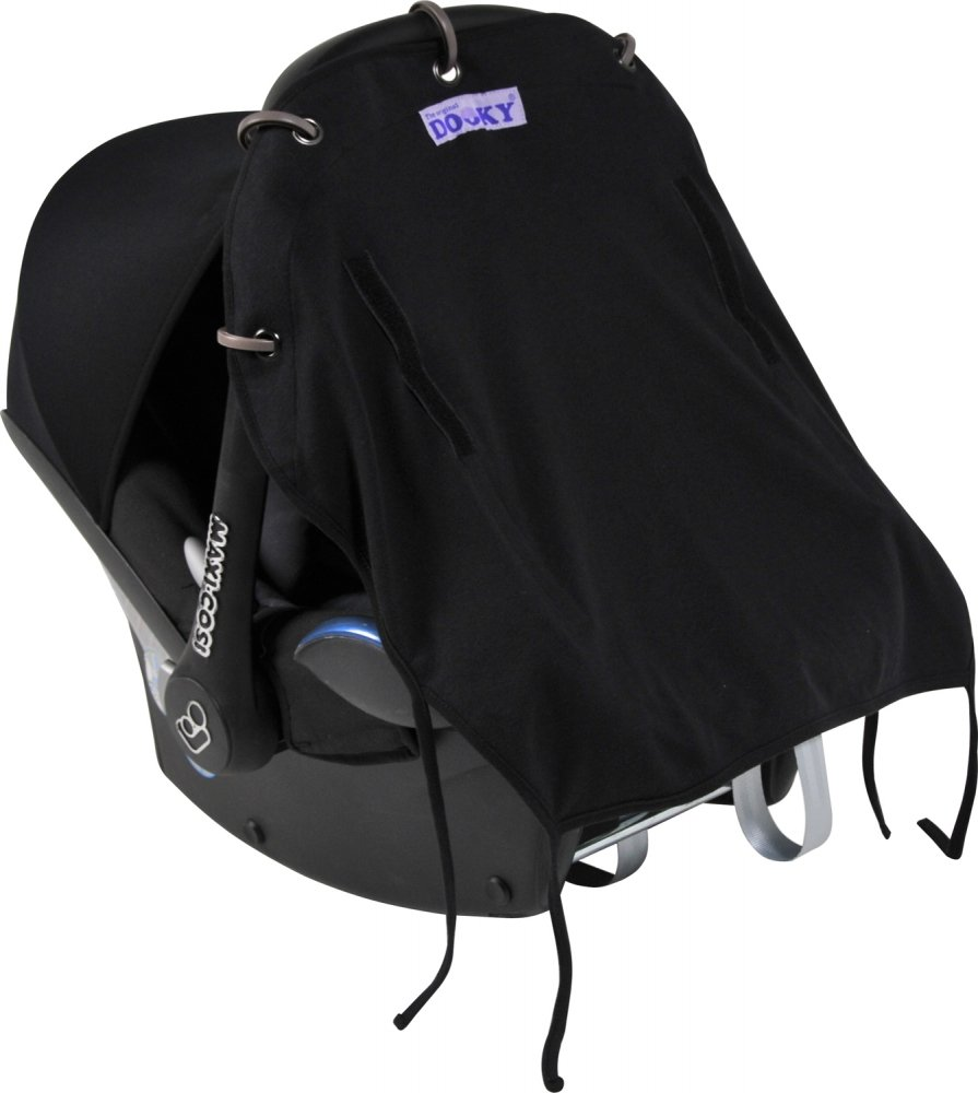 XPLORYS Защитная накидка на коляску и автокресло DOOKY цв. Black XPLORYS_накидка на коляску и автокресло (DOOKY- XPLORYS)