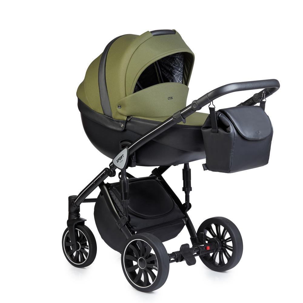 Купить Коляски для новорожденных, ANEX SPORT Коляска 3 в 1 Q1 (Sp17) british green