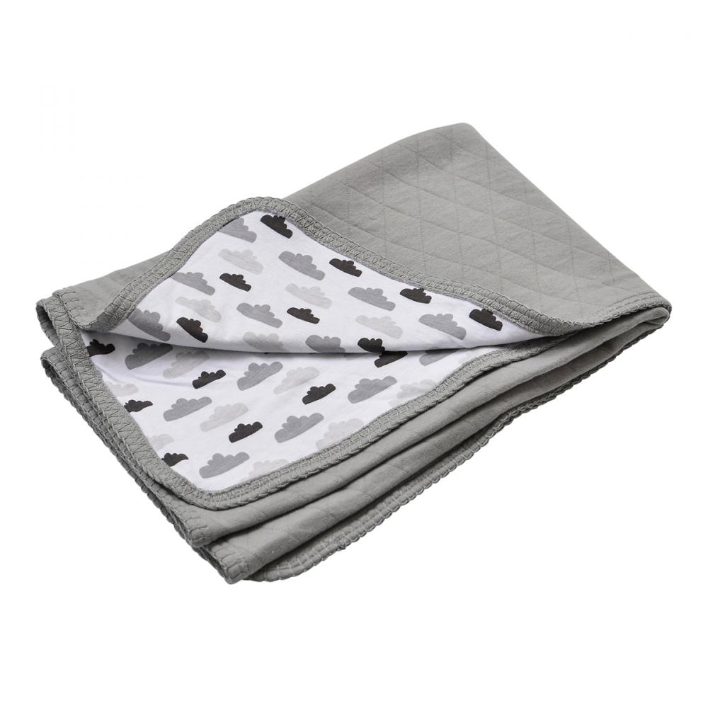 Lodger плед Dreamer Quilt Grey 100x150cm