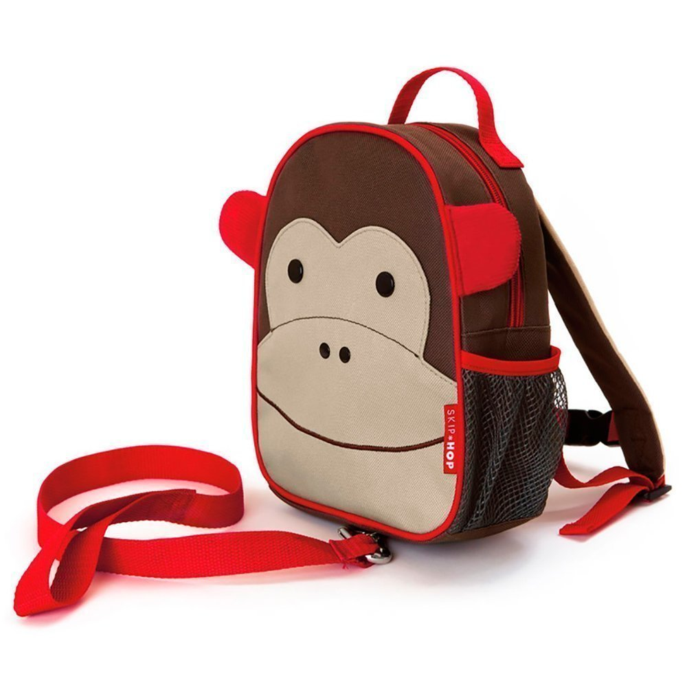 """SKIP HOP рюкзак детский с поводком """"Обезьяна"""" SH 212203"""