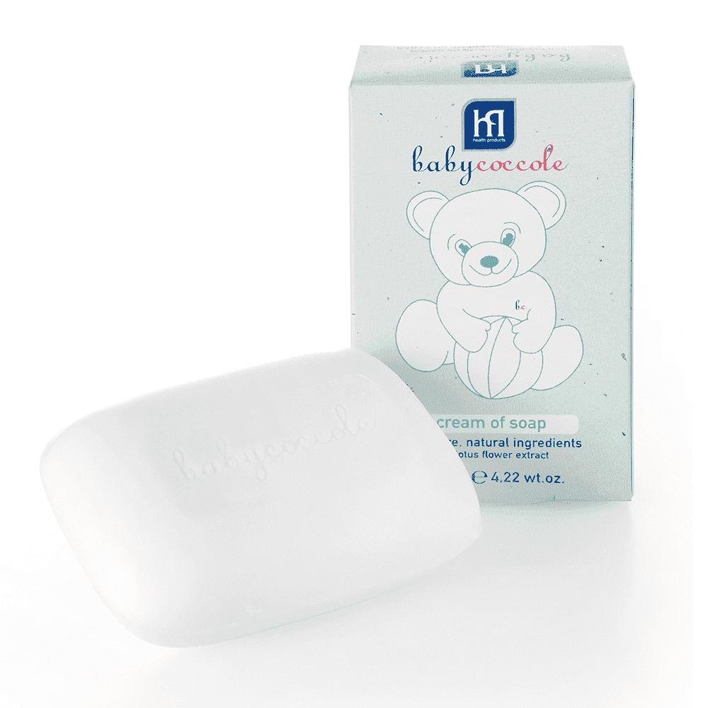 BABYCOCCOLE крем-мыло 125 г.