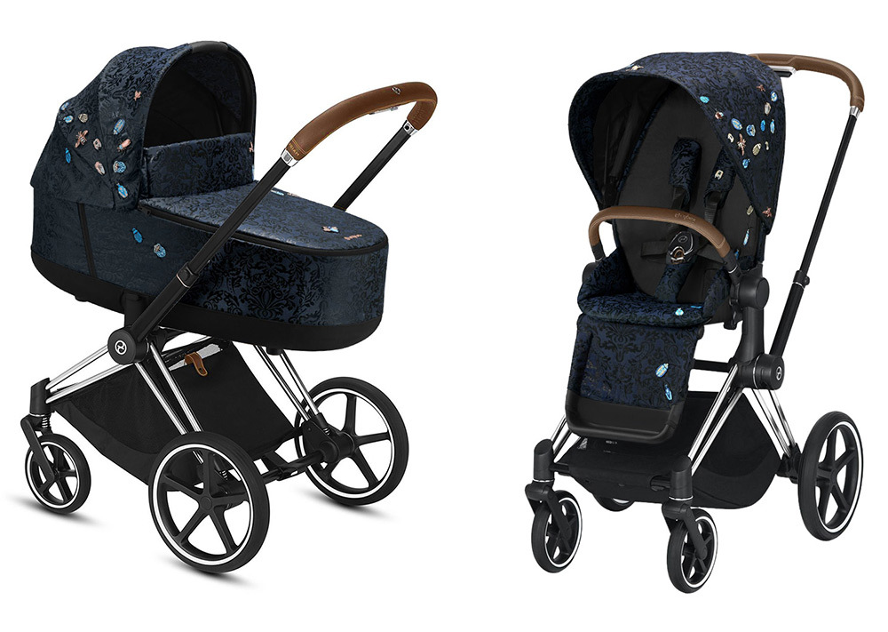 Cybex Priam III коляска 2 в 1 Chrome / Jewels of Nature