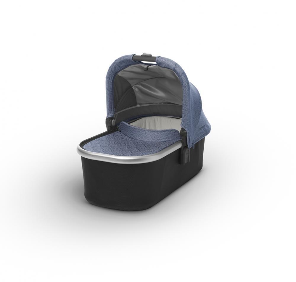 Купить Коляски для новорожденных, UPPABABY Люлька для коляски Cruz и Vista 2018 Henry (Blue Marl) голубая джинса