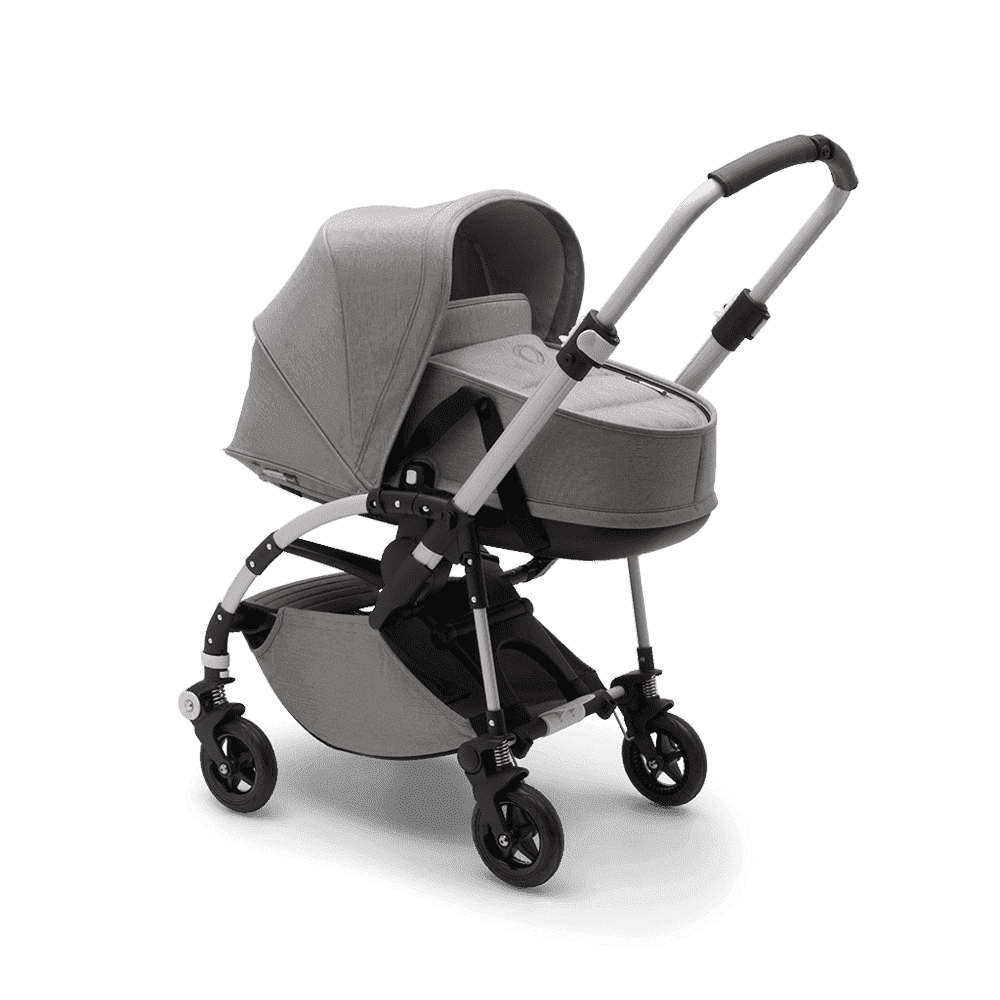 Bugaboo Коляска 2 в 1 Bee5 Mineral LIGHT GREY / ALU