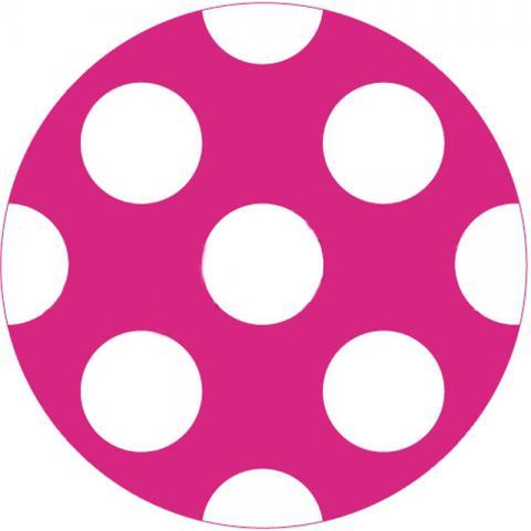 CityGrips Чехлы на ручки для универсальной коляски  Polka-dot pink