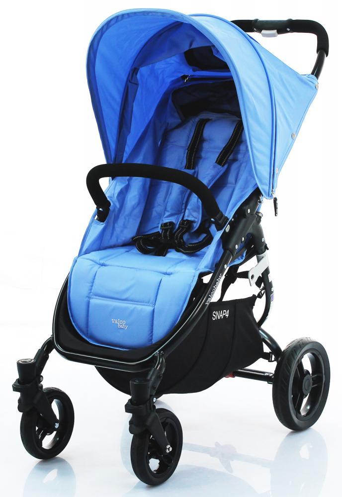 VALCO BABY Коляска прогулочная SNAP 4/ Powder Blue черное шасси