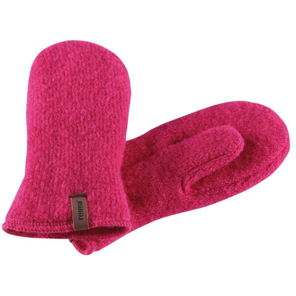 Купить Шапки, варежки, перчатки, REIMA варежки шерстяные PYRY розовые р.4 (4-6лет)