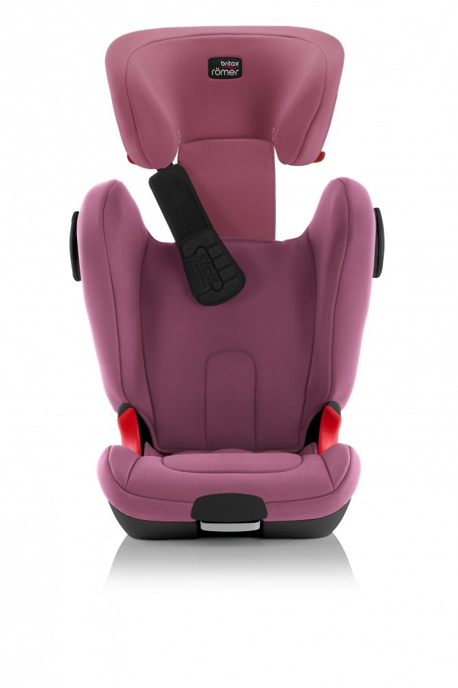 BRITAX ROEMER автокресло KIDFIX XP SICT Wine Rose Black Series (Группа 2-3, от 15 до 36 кг)