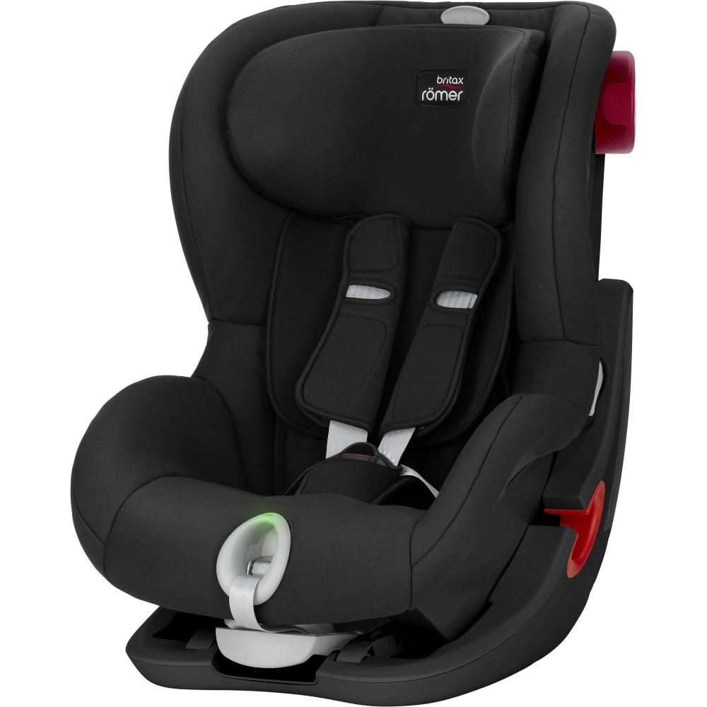 Britax Roemer автокресло King II LS Black Series Cosmos Black