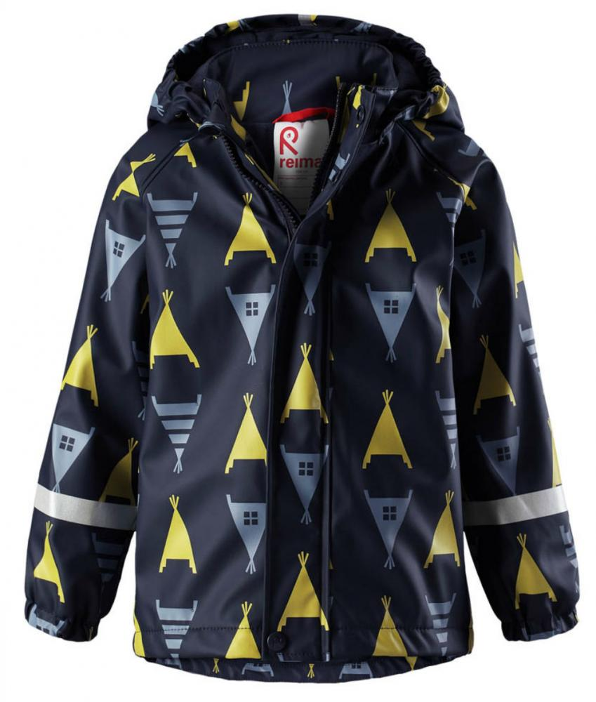 Купить Одежда для весны, REIMA плащ для дождливой погоды KOSKI синий р.104