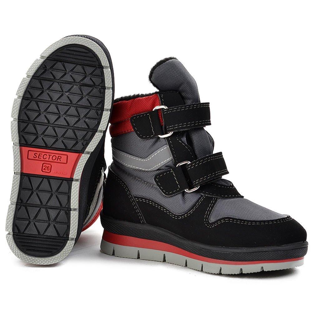 Jog dog ботинки детские серый техник р.27