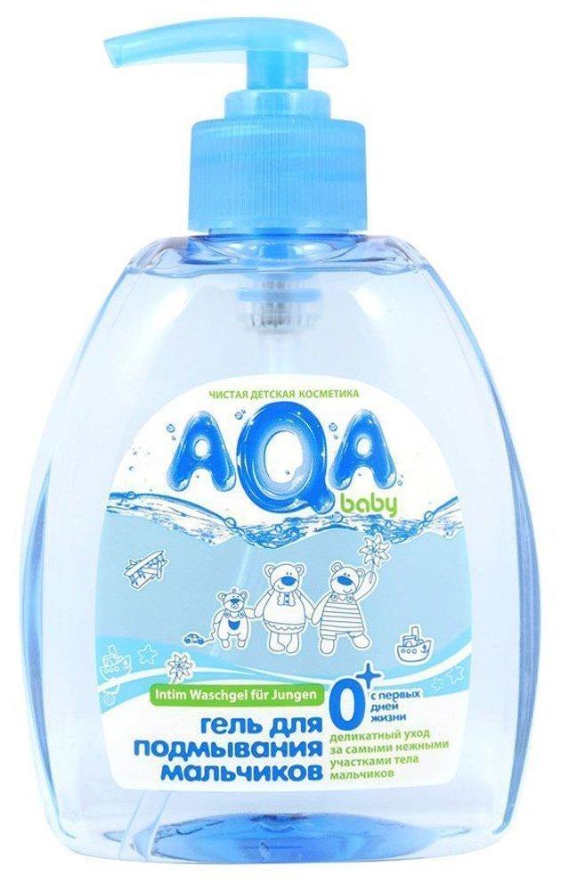 AQA BABY гель для подмывания мальчиков, 300 мл