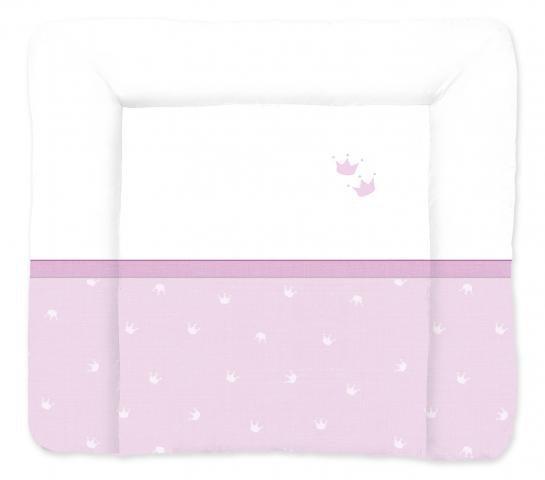 TRAUMELAND матрасик для пеленания Kroenchen rosa 75х85 см. от olant-shop.ru