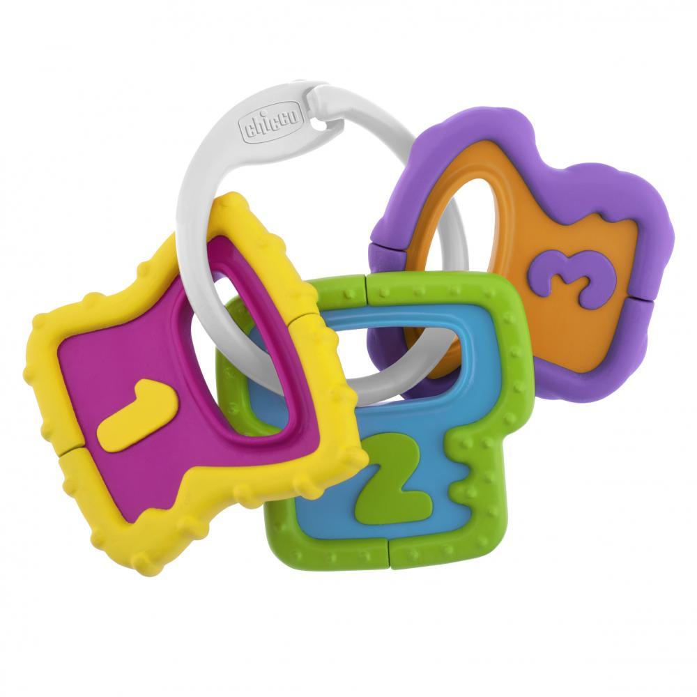 Купить со скидкой Chicco игрушка погремушка ключики 3м