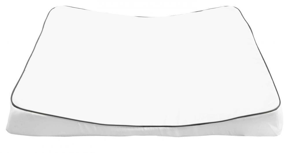 LUMA матрасик пеленальный XL 77*74  белый