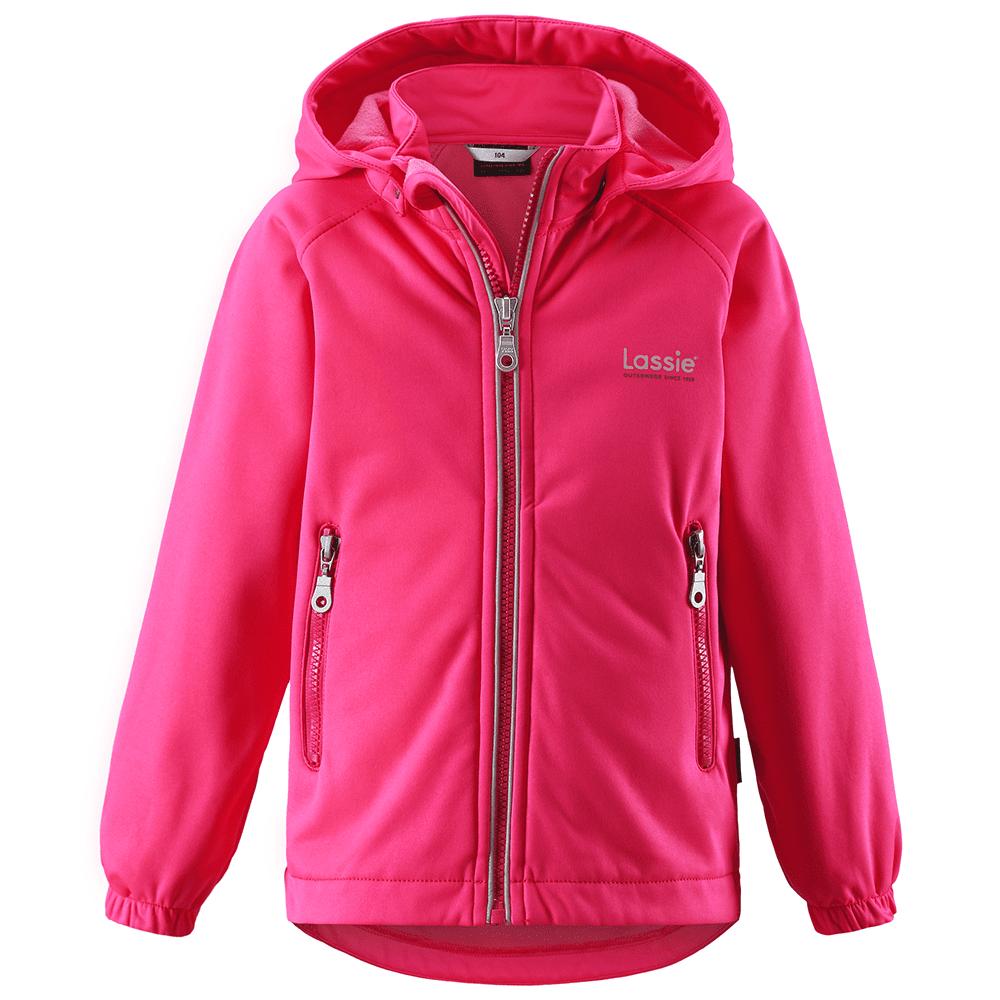 LASSIE куртка softshell розовая р.92
